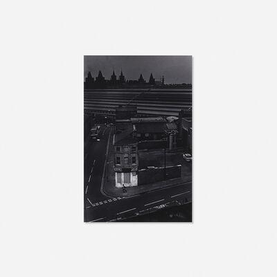 Charles Harbutt, 'Running Man, Liverpool (Railroad Yard)', 1971