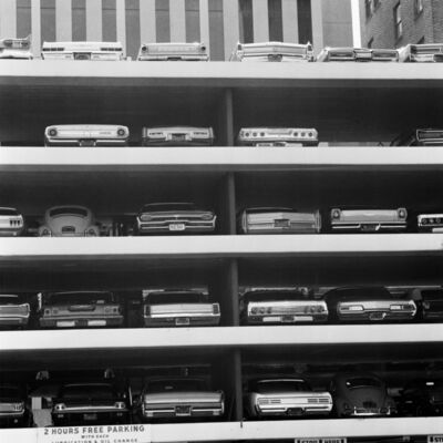 Mario Carnicelli, 'Parking lot, Los Angeles', 1967