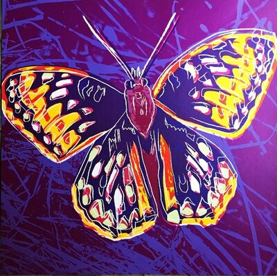Andy Warhol, 'San Francisco Silverspot Butterfly, from Endangered Species', 1983