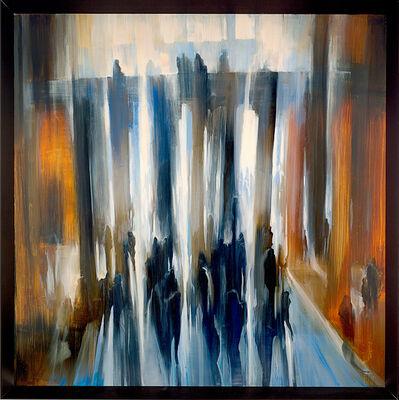 David Allen Dunlop, 'Layered Columns of Light lX', 2014