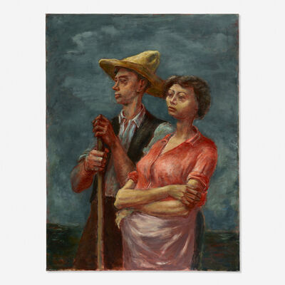 Arnold Blanch, 'Man and Wife', 1935