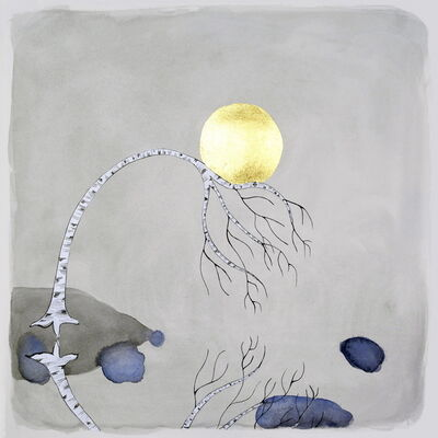 "Crystal Liu, 'The Moon, ""the weight of it""', 2014"