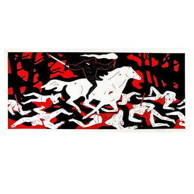 Cleon Peterson, 'VICTORY (Red)', 2016