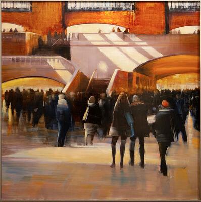 David Allen Dunlop, 'Grand Central Station, Sun Stripes', ca. 2019