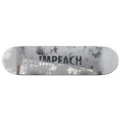 Jenny Holzer, 'Impeach (Wood) Skateboard Deck', 2020