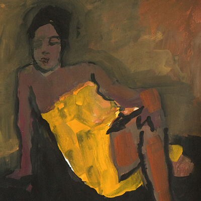 Jennifer Hornyak, 'Girl in Yellow', 2019