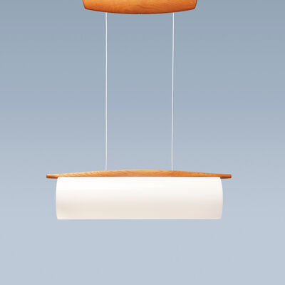 Uno and Osten Kristiansson, 'Rare and large cylindrical ceiling lamp', 1951-1960