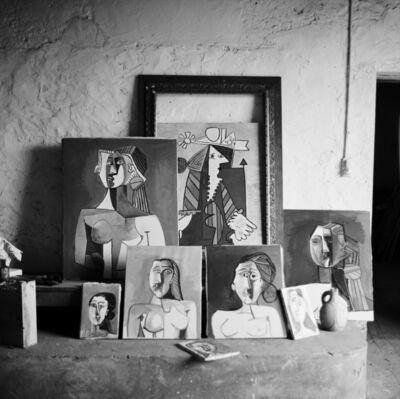 Edward Quinn, 'Picasso's studio, Vallauris', 1953