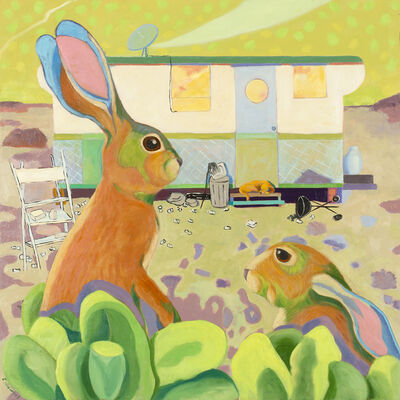 Lindy Chambers, 'Rabbit Run', 2018