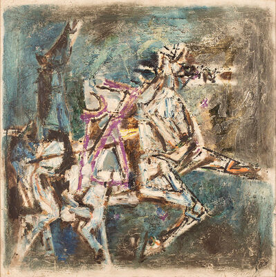 M. F. Husain, 'Untitled (Horse)', 1960-1970