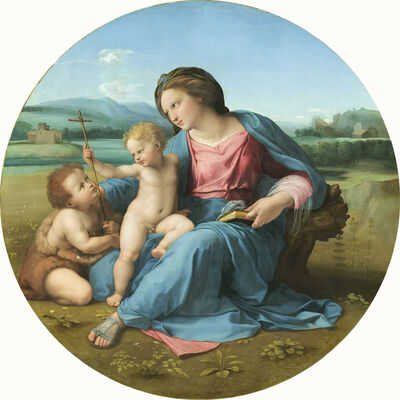 Raphael, 'The Alba Madonna', ca. 1510