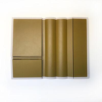 Robert William Moreland, 'Untitled Olive Curves', 2018