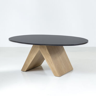 Tinatin Kilaberidze, 'Coffee Table in Oak and Bronze by Tinatin Kilaberidze', 2018