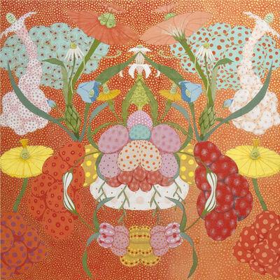 Mari Ito, 'Origen del deseo - Arcoíris rojo', 2018