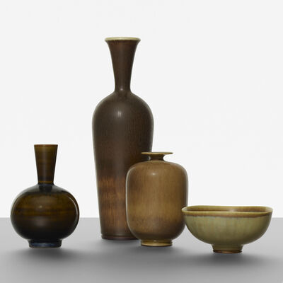 Berndt Friberg, 'Collection of four vessels'