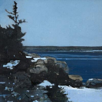 Robert Pollien, 'March Snow, Acadia National Park', 2018