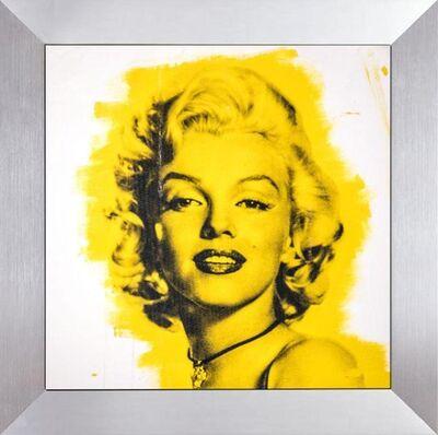 Steve Kaufman, 'Steve Kaufman  Marilyn Monroe Warhol Famous Assistant Oil Painting Canvas 25 x 29', 1990-2010