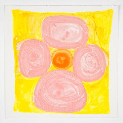 Judy Ledgerwood, 'Inner Vision: Pink + Yellow + Orange', 2020