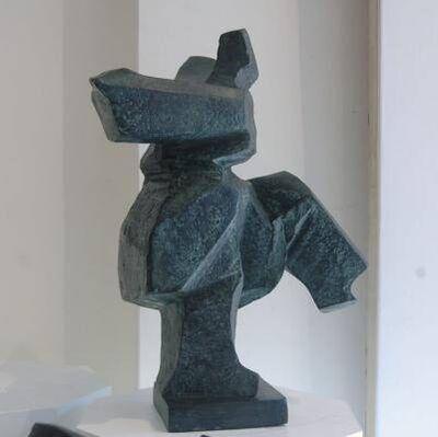 Ju Ming 朱銘, 'Tai Chi Boxer', 1991