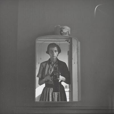 Vivian Maier, 'Self-portrait, New York, NY', early 1950s