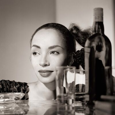 Matthew Rolston, 'Sade, with Cocktails, Los Angeles', 1988