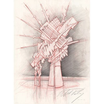 """Albert Paley, 'New Jersey Transit sculptural proposal no. 1 for """"Zenith,"""" Rochester, NY', 2006"""