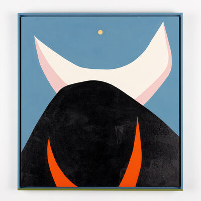 Evi O, 'The Bull Charges For The Moon', 2019