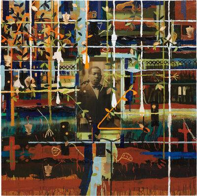 Radcliffe Bailey, 'Solemn Journey', 1998