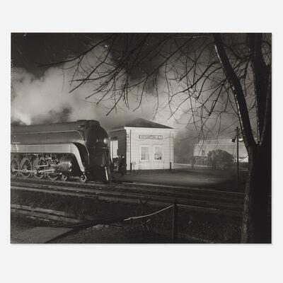 O. Winston Link, 'The Meet of Norfolk & Western Train No. 2 and Baltimore & Ohio Train No. 7, Shenandoah Junction, Virginia'