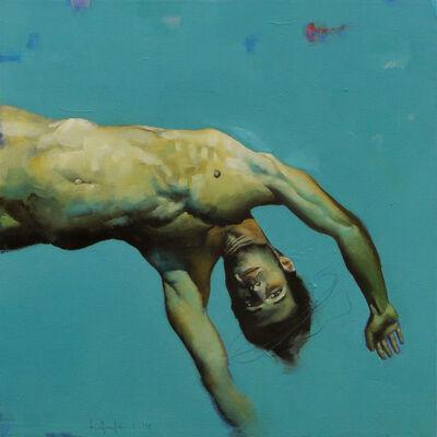 Filippo Manfroni, 'Blu abbandono, attimo 4', 2014