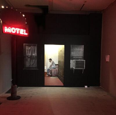 Brett Amory, 'Johnny at Hollywood Center Motel', 2015