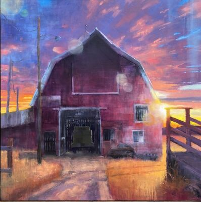 Matthew Sievers, 'Silhouette of Sunset', 2020