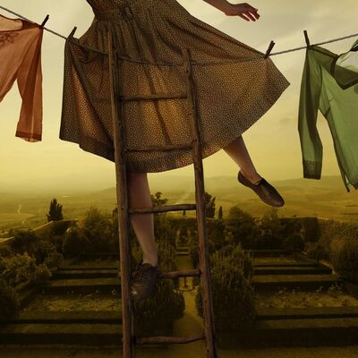 Tom Chambers, 'Pennants Over Pienza', 2012