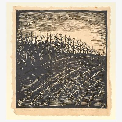 Wharton Esherick, 'September Corn', 1922