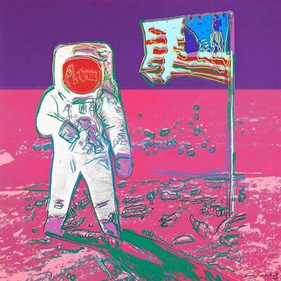 Andy Warhol, 'Unique Moonwalk', 1987