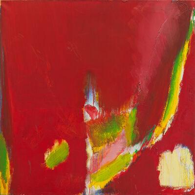 Olivier Debré, 'Rouge à la tâche jaune', 1993