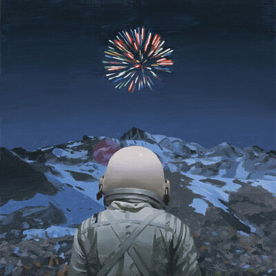 Scott Listfield, 'Mountain Fireworks', 2017