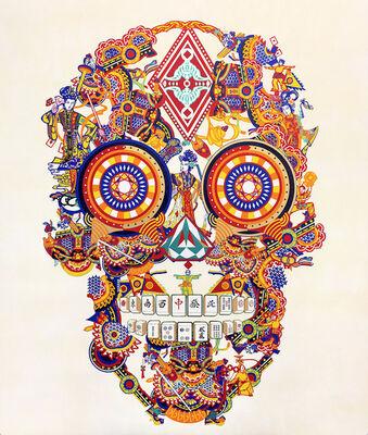 Jacky Tsai, 'Gambling Skull', 2018