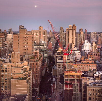 Benjamin Swett, 'View East from 30 East 85th Street, October 3, 2017, 6:45 PM', 2017