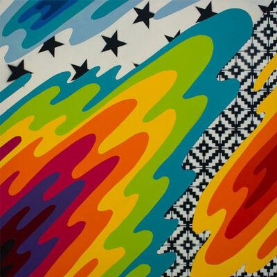 Okuda San Miguel, 'Liquids and Textures ', 2019