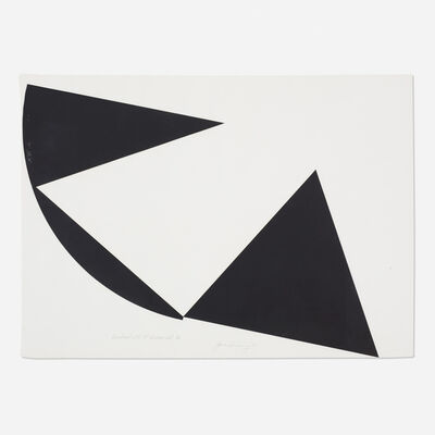 James Reineking, 'Quadrant with 90° Displacement IV', 1975