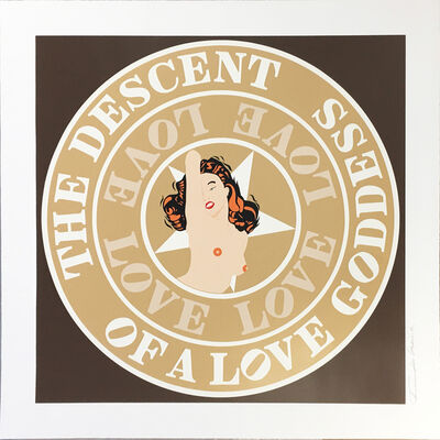 Robert Indiana, '(Marilyn) Descent of a Love Goddess', 2008