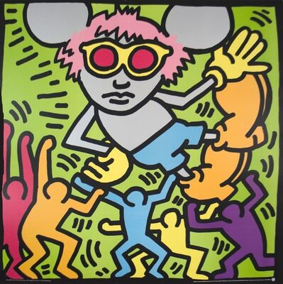 Keith Haring, 'Andy Mouse', (Date unknown)
