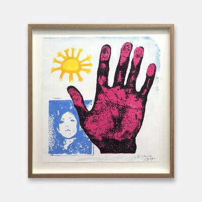 B. Thom Stevenson, 'Pink Hand', 2019