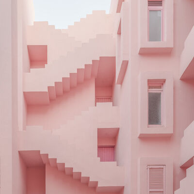 Ludwig Favre, 'Pink Stairs', 2019