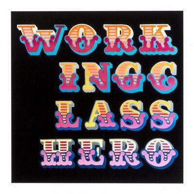Ben Eine, 'Working Class Hero'