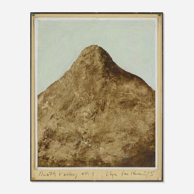 Llyn Foulkes, 'Death Valley No. 7', 1975