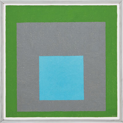 Josef Albers, 'Study to Homage to the Square - Looking Out', 1954