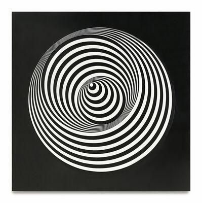 Marina Apollonio, 'Dinamica Circolare 9B', 1969
