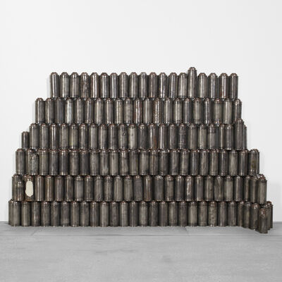 Barry McGee, 'Untitled (224 Cans of Spraypaint)', 1999